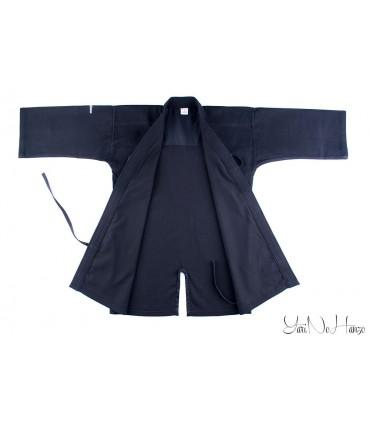 Iaido / Kendo Gi Professional 2.0 | Kendo Jacke Schwarz | Kendojacke mit Reiskornwebung