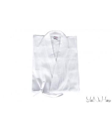 Iaido / Kendo Gi Professional 2.0 | Kendo Jacke Weiss | Kendojacke mit Reiskornwebung