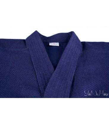 Iaido / Kendo Gi Professional 2.0 | Kendo Jacke Dunkelblau Indigo | Kendojacke mit Reiskornwebung