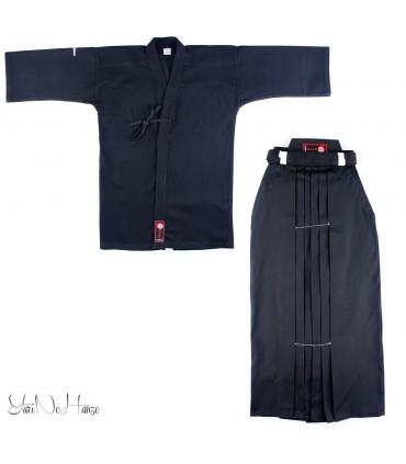 Kendo Set Basic SCHWARZ | Kendo Gi und Hakama SET