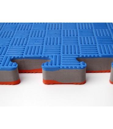 SET 10 PCS | 2,5 cm Tatami Puzzlematte PRO für Karate Taekwondo | Puzzle Wendematte Tatami