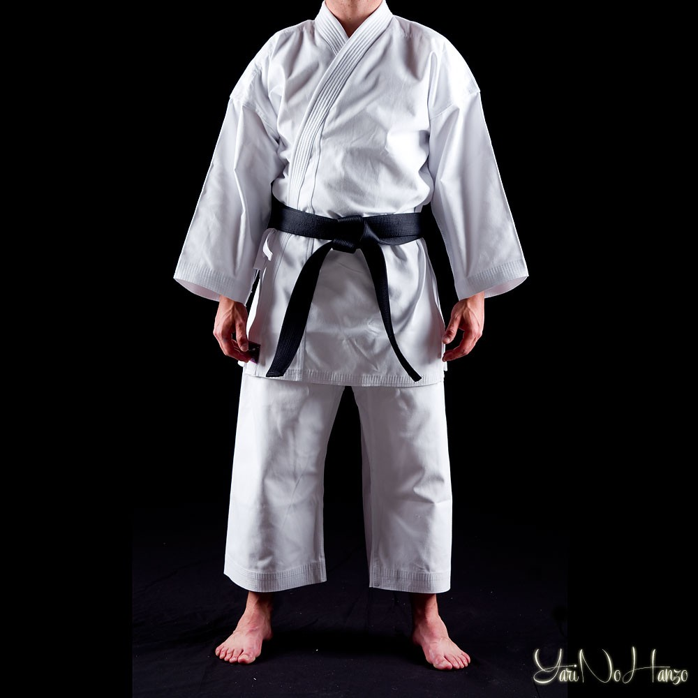 Karate Gi TORA 14oz Canvas weiss Kumite-Anzug Karate Anzug Karateanzug