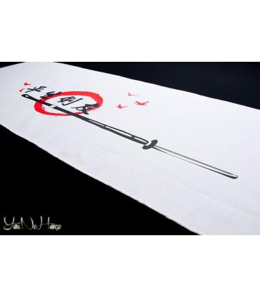Tenugui Kendo | Tomodachi | Weiß