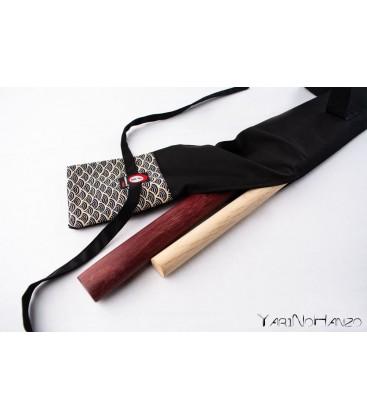 Buki Bukuro Sakura | Bag For Shinai, Bokken and Jo