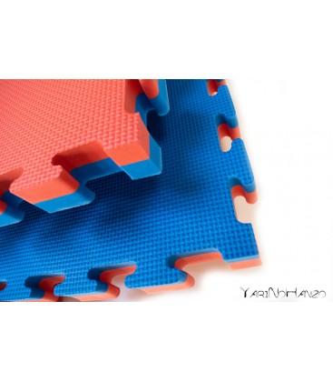 SET 10 ST. | 4 cm Tatami Puzzlematte für Judo Aikido | Puzzle Wendematte Tatami