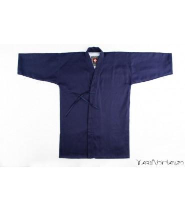 Nami Kendo Gi BLAU | Handgefertigter Kendogi