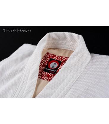 Sakura Kendo Gi Weiss | Handgefertigter Kendogi