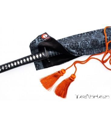 Katana Bukuro Kamon (heller Hintergrund) | Katana Schwerttasche Sakura