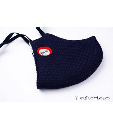 YariNoHanzo blauer Mundschutz