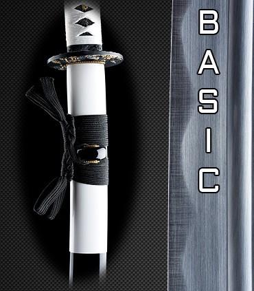 Scharfe Basic Katana Schwerter