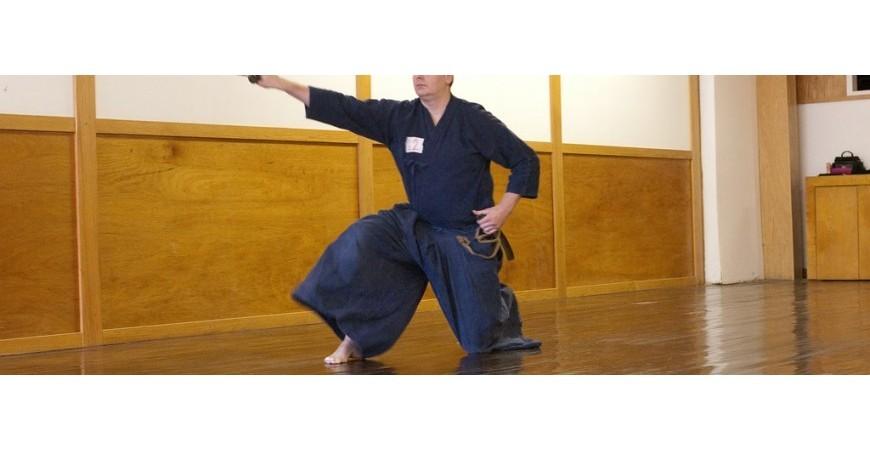 Obi Iaido: Wie bindet man den Gürtel?